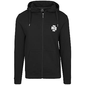 Rammstein Zip Hoody - sort SIDEPRINT