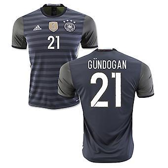 2016-2017 Germany Away Shirt (Gundogan 21) - Kids