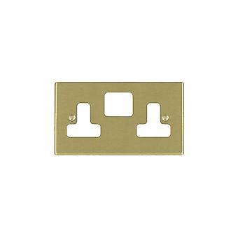 Hamilton Litestat Hartland Satin Brass SS2 Aperture Gridfix Plate