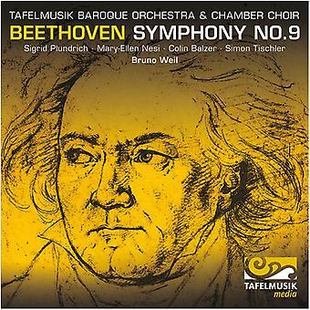 Beethoven / Plundrich / NEsJeg / Balzer / Tischler - symfoni No. 9 [CD] USA import