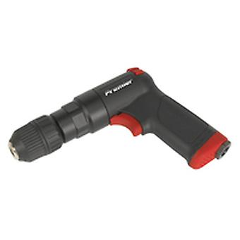 Sealey Sa620 Air Pistol Drill With 10Mm Keyless Chuck Composite Premier