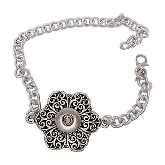 Stainless Steel Bracelet For Mini Click Buttons Bsz107-s