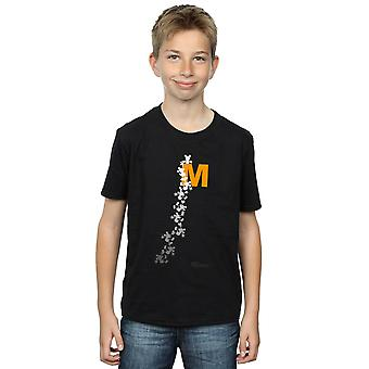 Disney Boys Mickey Mouse Climbing Silhouettes T-Shirt