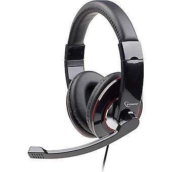 PC headset 3.5 mm jack Corded, Stereo Gembird MHS-001