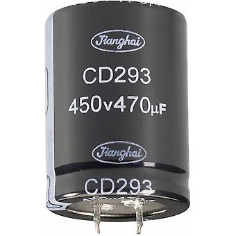 Electrolytic capacitor Snap-in 10 mm 10000 µF 63