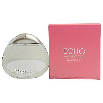 Echo Woman By Davidoff Deodorant Breeze Spray 3.4 Oz