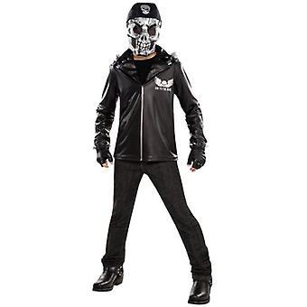 Amscan Junior Ghost Biker Costume (Babies and Children , Costumes)