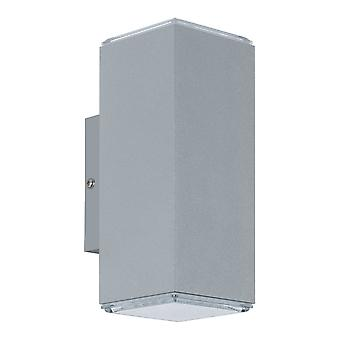 EGLO Tabo LED exteriör upp och ner ljus i Silver