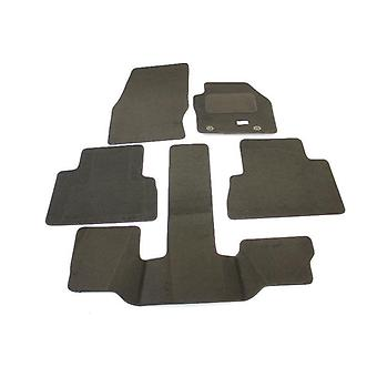Fully Tailored Car Floor Mats - Ford GRAND C-MAX Oval clip 2011-2013 Black