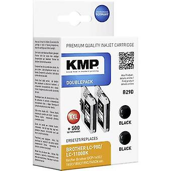 KMP Ink replaced Brother LC-980, LC-1100 Compatible Dual