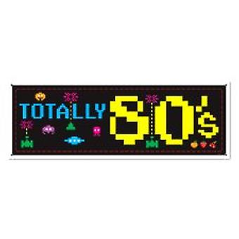 80-tal Sign Banner