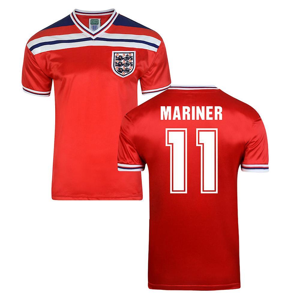 Score Draw England World Cup 1982 Away Shirt (Mariner 11)