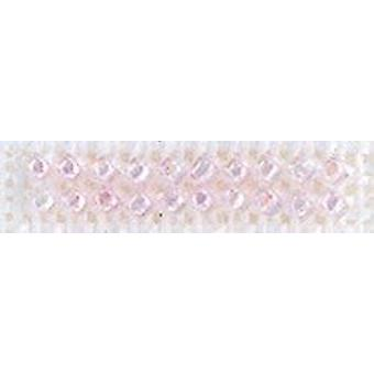 Mill Hill Petite Glass Seed Beads 2mm 1.6g-Crystal Pink