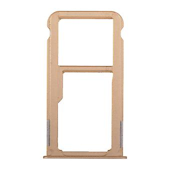 For Huawei Mate 8 SIM Card Tray - Gold