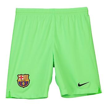 2018-2019 Barcelona Away Nike Shorts de guardameta (verde) - niños
