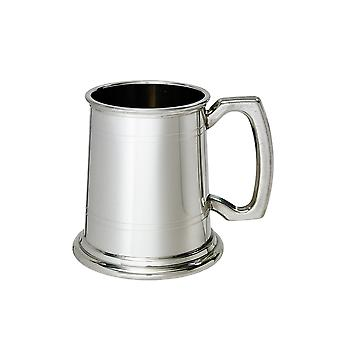 Half Pint Double Lined Pewter Tankard