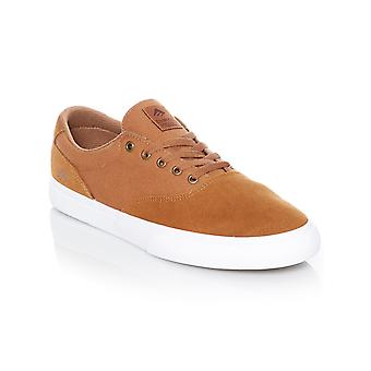 Emerica Tan-White Provost Slim Vulc Shoe
