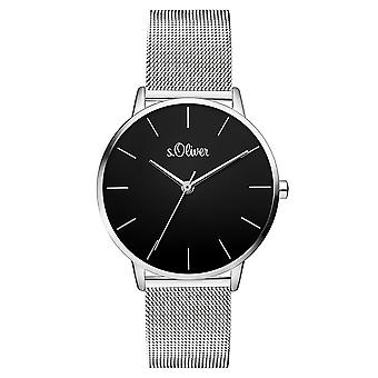 s.Oliver women's watch wristwatch stainless steel SO-3529-MQ