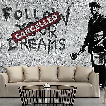 Tapet - drømme aflyst (Banksy)