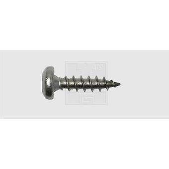 SWG 1839642030 Roundhead wood screws 4 mm 20 mm Torx Stainless steel A2 25 pc(s)
