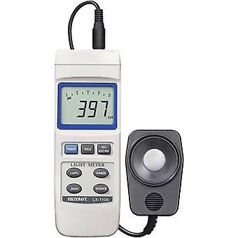 VOLTCRAFT LX-1108 Lux meter 0 - 400000 lx Calibrated to Manufacturer's standards (no certificate)