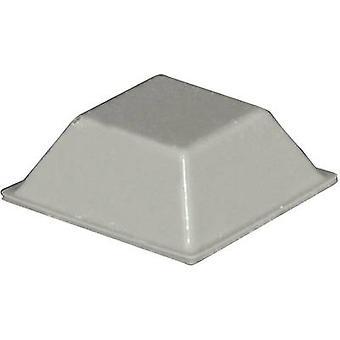 TOOLCRAFT PD2205G foten selvklebende, firkantet grå (L x b x H) 20.5 x 20.5 x 7,5 mm 1 eller flere PCer
