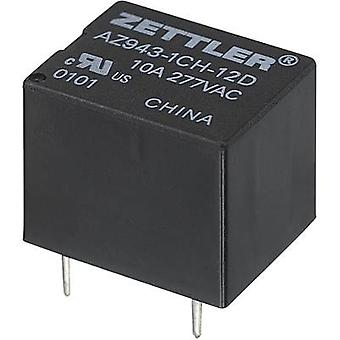 Zettler Electronics AZ943-1CH-6DE PCB relays 6 Vdc 15 A 1 change-over 1 pc(s)