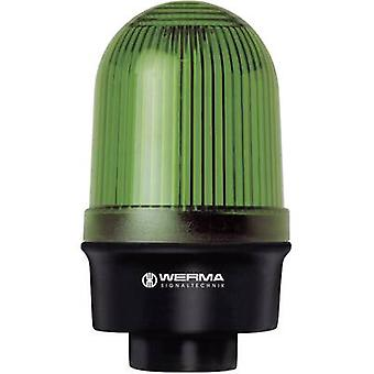 Lys Werma Signaltechnik 219.200.00 grønne Non-stop lyssignal 12 V AC, 12 Vdc, 24 V AC, 24 Vdc, 48 V AC, 48 Vdc, 110 V AC, 230 V AC