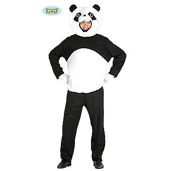 Panda schwarz weißer Bär Bären Kostüm Pandakostüm Bärkostüm