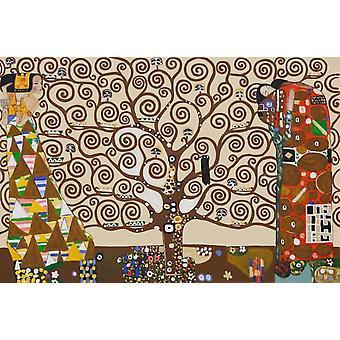 The Tree Of Life - Gustav Klimt Poster Poster Print