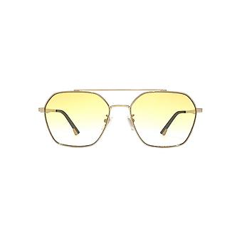 Police Vibe 2 Sunglasses In Shiny Gold Yellow Gradient