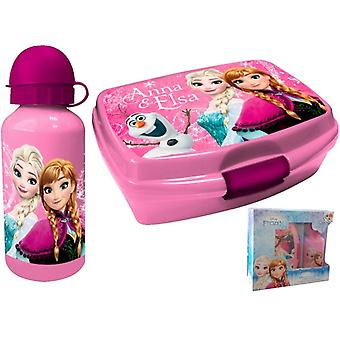 Frozen Frost lunch box and water bottle gift box