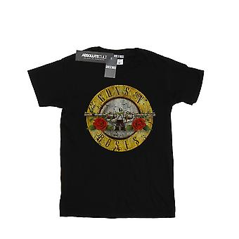 Guns N Roses Girls Vintage Bullet Logo T-Shirt
