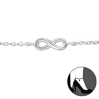 Infinity - 925 Sterling Silver Anklets - W27906x