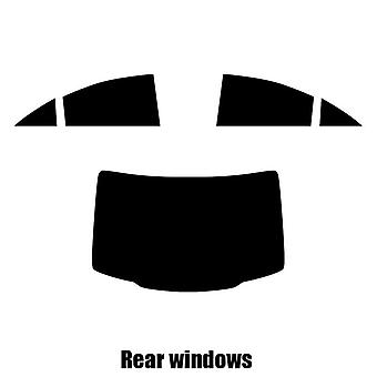 Pre cut fönstret nyans - Mercedes CLS 4-dörrars sedan - 2012 till 2016 - bakre windows