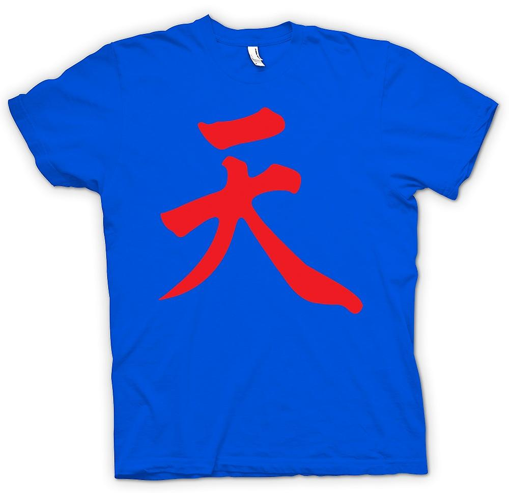 Herr T-shirt-Street Fighter - Akuma - japanska Gamer