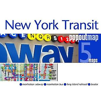 New York Transit PopOut Map by New York Transit PopOut Map - 97819102
