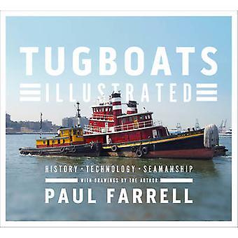 Holowniki ilustrowany - historia - technologia - żeglarskie przez Paul Farre