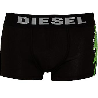 Дизель могавков логотип боксер ствола, черный/зеленый