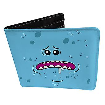 Rick and Morty purse Mr. Meeseeks existence is pain blue, printed, 100% polyester.