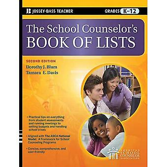 The School Counselor's Book of Lists