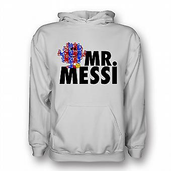 Lionel Messi Mr Messi Hoody (white) - Kids