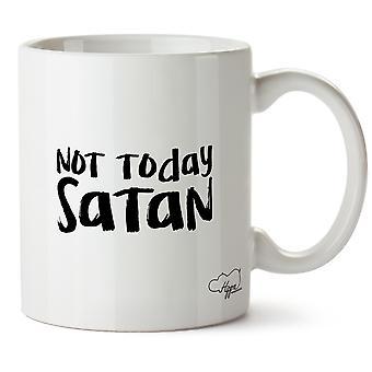 Hippowarehouse Not Today Satan 10oz Mug Cup