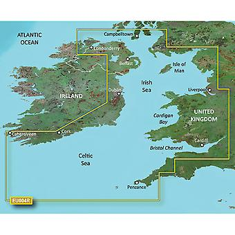 Garmin BlueChart® g3 HD - HXEU004R - Irish Sea - microSD™/SD™