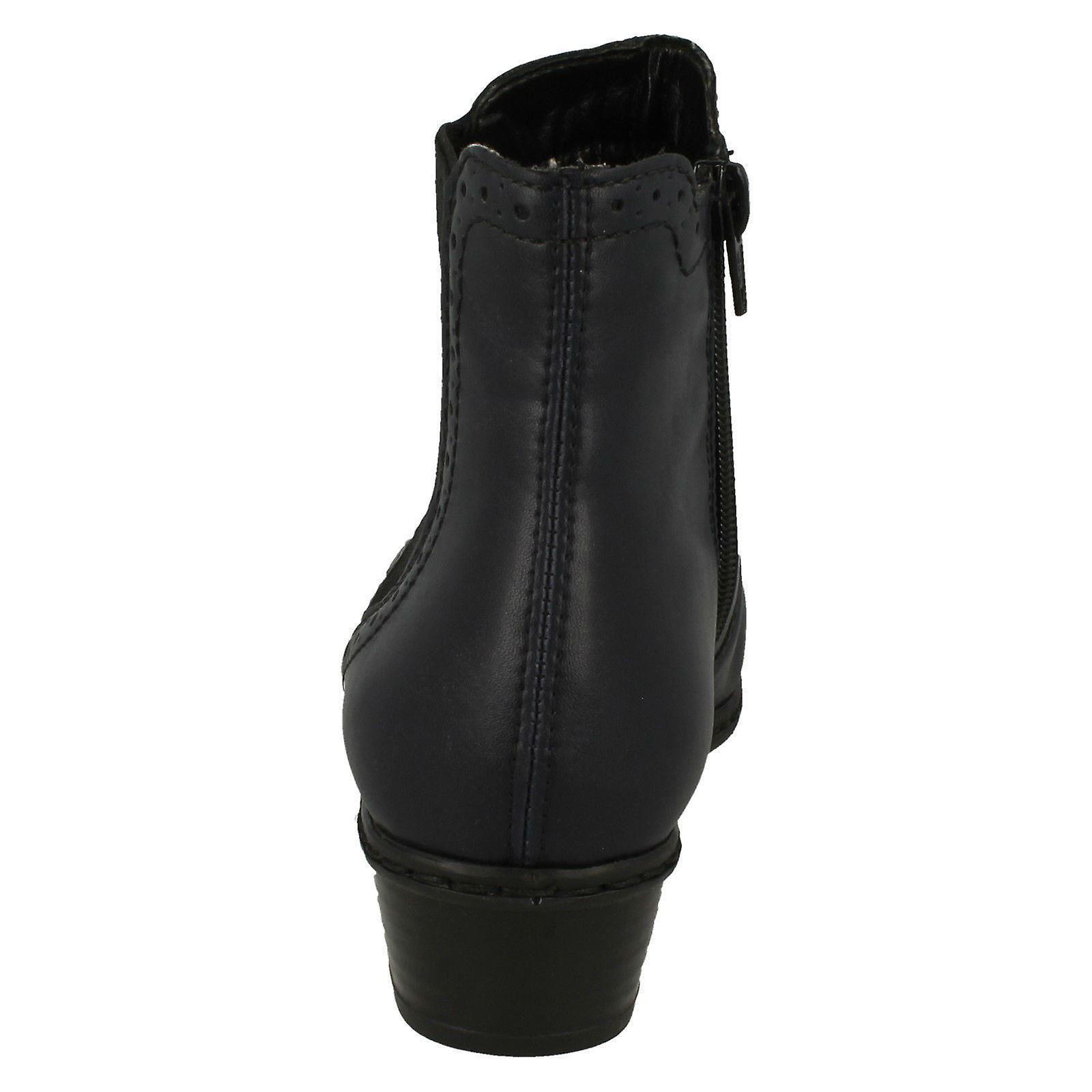 Rieker Damen Gefütterte Boots Ankle Fleece Y0771 Y6gbfy7