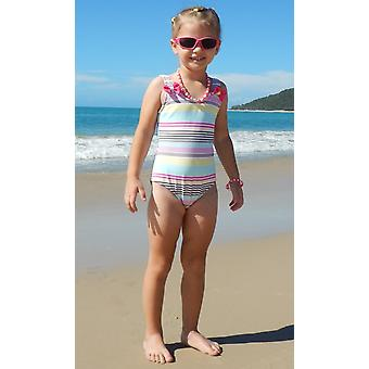 Aqua Perla- Girl - Anais -printed - Spf50+ - One Piece Swimwear