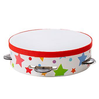 Bigjigs Toys Wooden Tambourine - Children's Musical Instrument