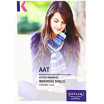 LEVEL 1 ACCESS AWARD IN BUSINESS SKILLS by KAPLAN PUBLISHING - 978178
