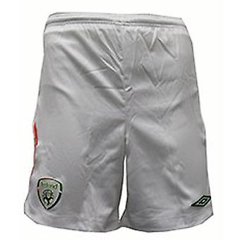 08-09 Ireland home shorts - Kids