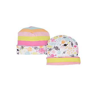 Magnetic Me™ by Magnificent Baby Girl Cotton Reversible Hat